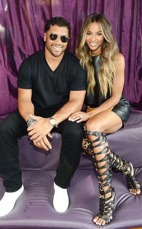 Ciara Flashes Ring as She & Russell Wilson Make First