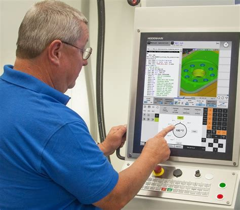 HEIDENHAIN's Compact TNC 620 Control Now with Touchscreen