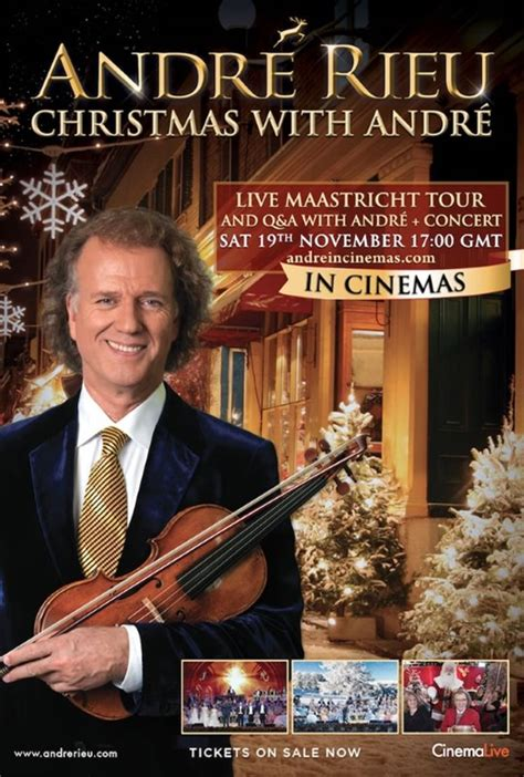 André Rieu: Christmas with André | Coming Soon on DVD
