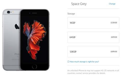 64GB iPhone 7 at 16GB price point desired – Product