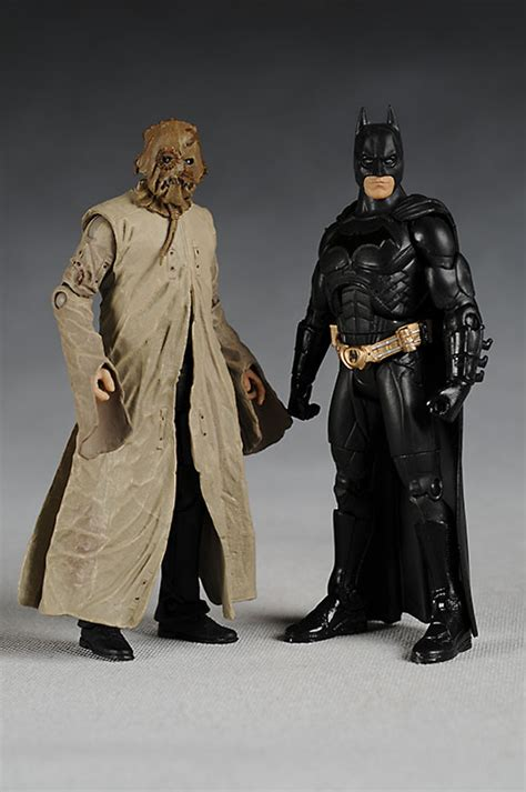 Movie Masters Batman Begins and Scarecrow action figures