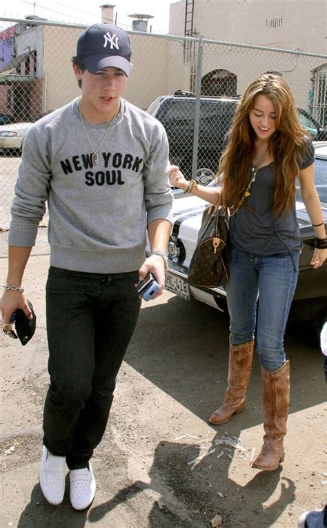 Nick Jonas and Miley Cyrus Were Dating from What Life Was