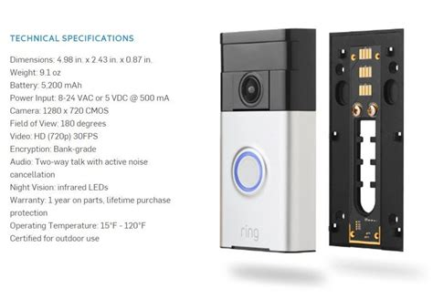Doorbot's Ring doorbell now available for pre-order for