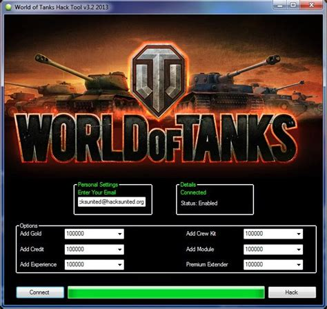 All Free Cheats-Trainers: World Of Tanks Hack Tool [No