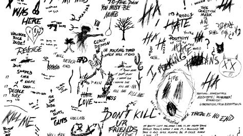 Free download Made this xxxtentacion wallpaper out if his