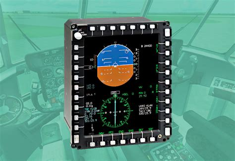 C-130 AMP Color Multi-Function Display (MFD) - Driven
