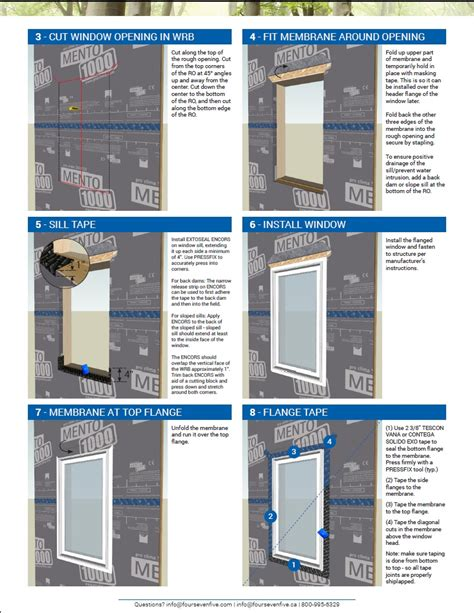 Flanged Window Install Guide for High Performance