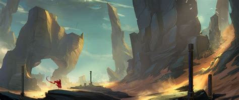 ultra wide, Video games, Journey (game) Wallpapers HD