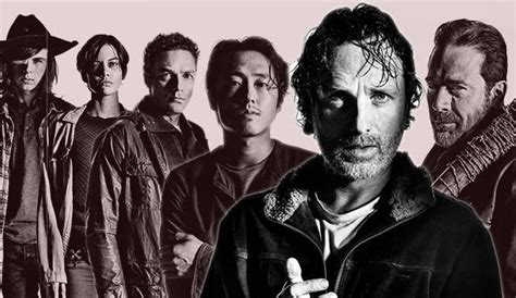 How We Find Each Character To Start The Walking Dead Season 7