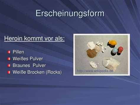 PPT - HEROIN PowerPoint Presentation, free download - ID