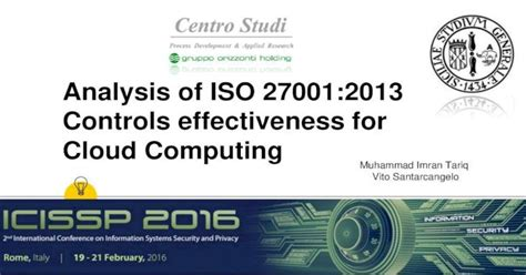Analysis of ISO 27001:2013 Controls effectiveness for