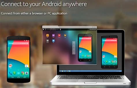 3 Quick Steps To Control Android Phone From PC   Remote