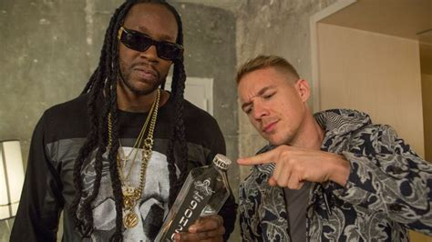 Watch Diplo & 2 Chainz Drink The Most Expensive Water In