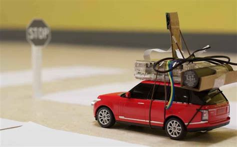 Programmer Makes Self-driving Toy Car Powered By Raspberry