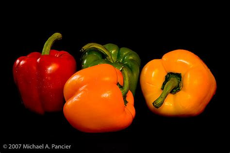 Bell Peppers - Still Life | © 2007 by Michael A