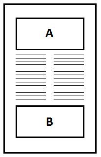 floats - How to add two two-column figures in the top and