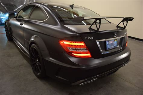 2013 Mercedes-Benz C63 AMG Black Series with the aero pack