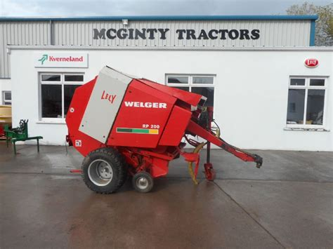Lely Welger RP200 - Old Stock - SOLD   McGinty Tractors
