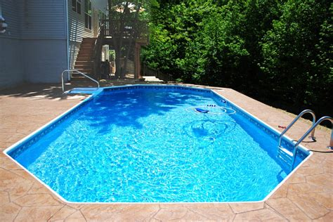 New In-Ground Grecian-Shaped Swimming Pool | Yelp