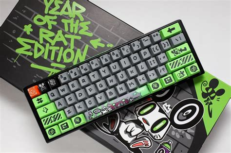 Ducky 2020 Year of the Rat Limited Zodiac Keyboard Cherry