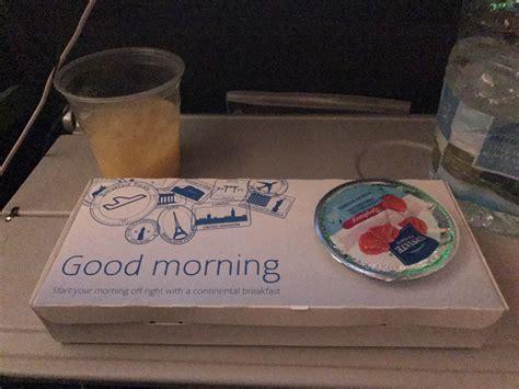 So, can American Airlines deliver a quality breakfast