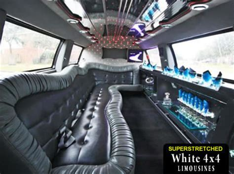 Hummer Limo Weston-super-Mare Including Pink 4x4s And Jeep