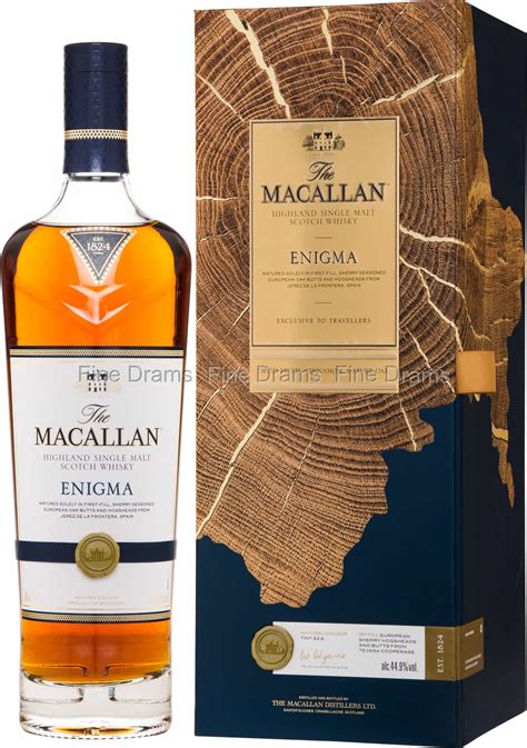 Macallan Enigma Whisky