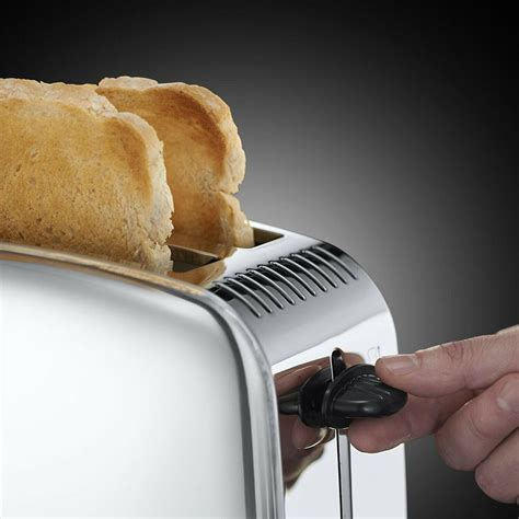 Russell Hobbs Long Slot 2-Slice Toaster Classic Stainless
