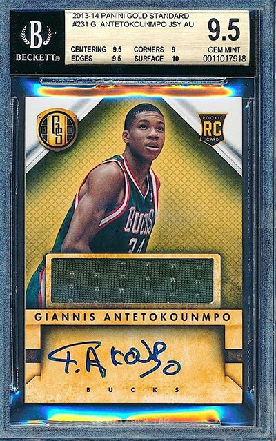 3 Giannis Antetokounmpo Rookie Cards on the Move