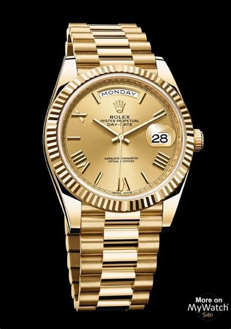 Watch Rolex Day-Date 40 | Oyster Perpetual 228238 - 83418