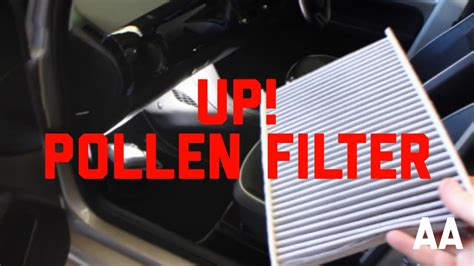 How to Replace Cabin Pollen Filter Volkswagen VW up! - YouTube