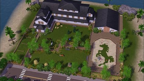 Let's Speed Build: Legacy Stables | Sims 3 - YouTube