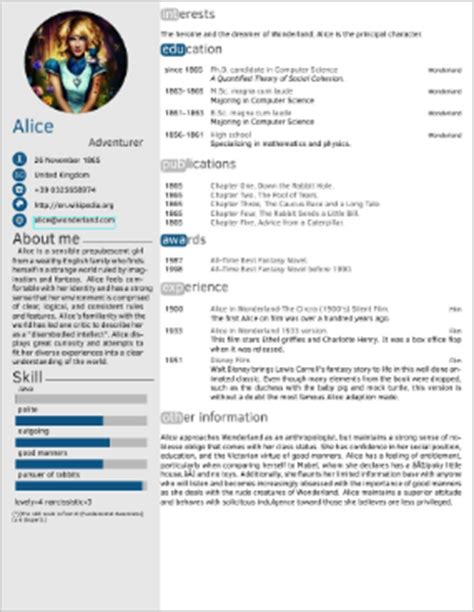 packages - LaTeX template for resume/curriculum vitae