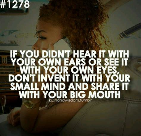 Stop Gossiping Quotes