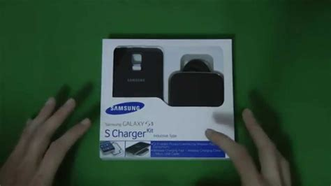 Recensione Samsung Galaxy S5 S Charger Kit wireless - YouTube