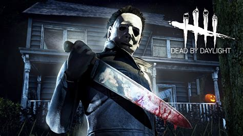 PLAYING AS MICHAEL MYERS!! (Dead by Daylight, Halloween