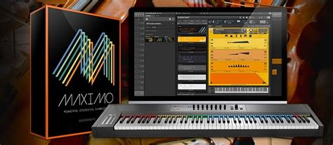 Sonokinetic Maximo cinematic orchestral Kontakt library