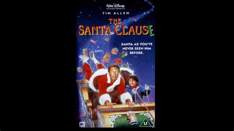 Opening to The Santa Clause UK VHS [1996] - YouTube