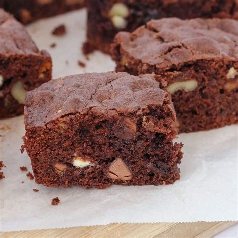 Thermomix Double Chocolate & Walnut Brownie - Thermobliss