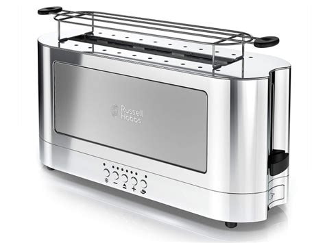 Russell Hobs Glass Accent Long Toaster