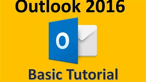 Outlook 2016 - Tutorial for Beginners - 2017 How To Use