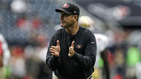 Jim Harbaugh sort of talks 49ers-Cowboys, but won't give