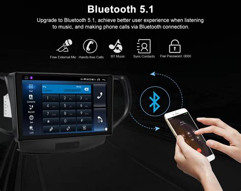 """For 2008-2015 Honda Accord 9"""" Android Car Stereo with"""