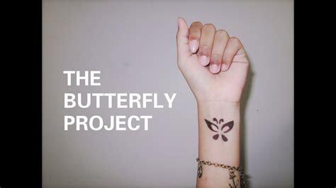 THE BUTTERFLY PROJECT - YouTube