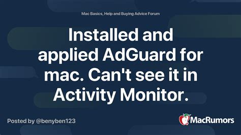 Installed and applied AdGuard for mac