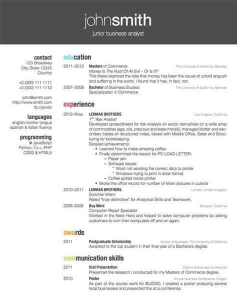 Awesome Cv Template Lyx Ideas awesome lyx resume template