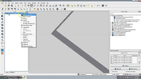 QGIS tutorial : remove overlapping areas and fill gaps