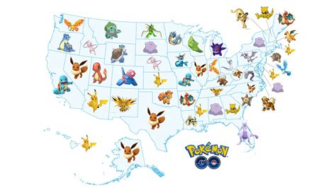 Every US state's most wanted Pokemon Go captures - VG247