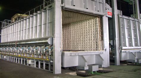 Industrial furnaces/heat treatment systems, furnace