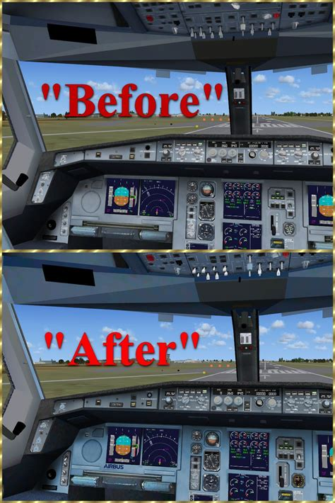 Airbus Cockpit Texture Upgrade for FSX